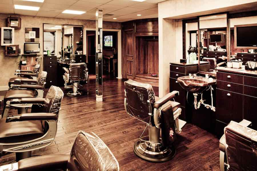 barbing salon business