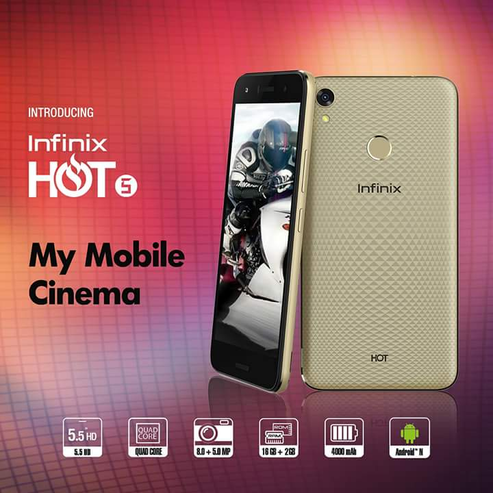 Infinix Hot 5 Price In Nigeria: Specs, Pictures, Deals On