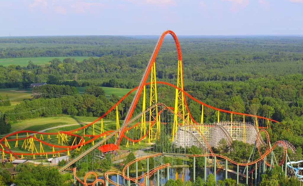 most intense rollercoaster United states