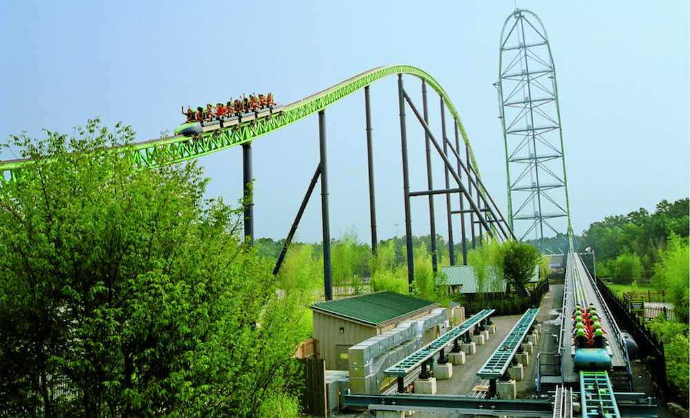 tallest roller coaster in the world