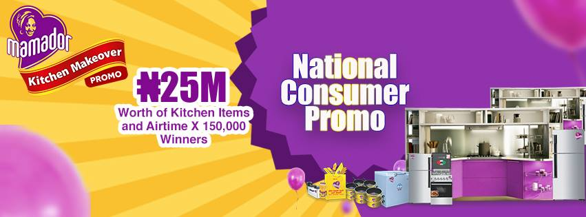 Mamador Kitchen Makeover Promo - Win #25 Million Worth Of Prizes
