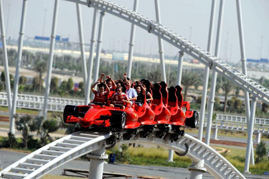 FASTEST ROLLER COASTER IN THE WORLD