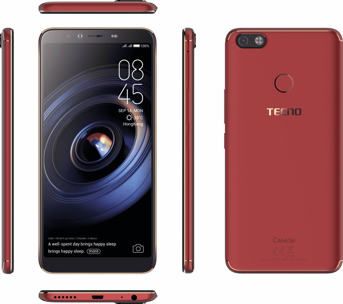 Tecno camon x pro price in Nigeria